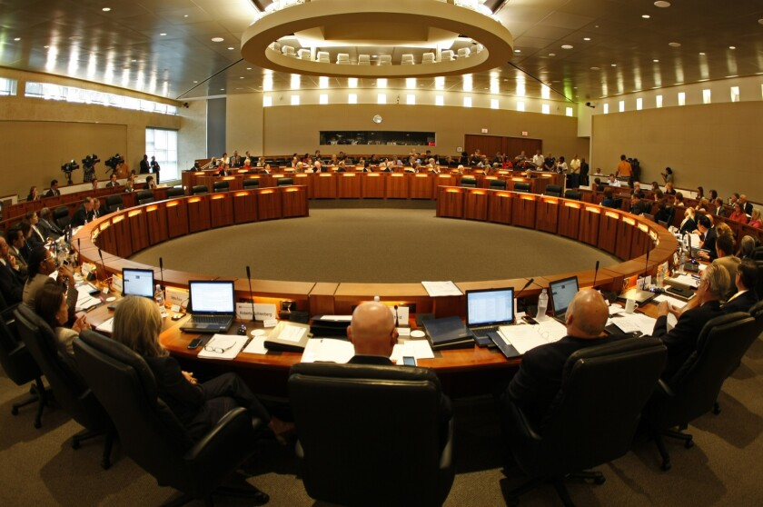 A meeting in Long Beach of the California State University Board of Trustees. Three trustees were appointed to the board by Gov. Jerry Brown on Thursday.