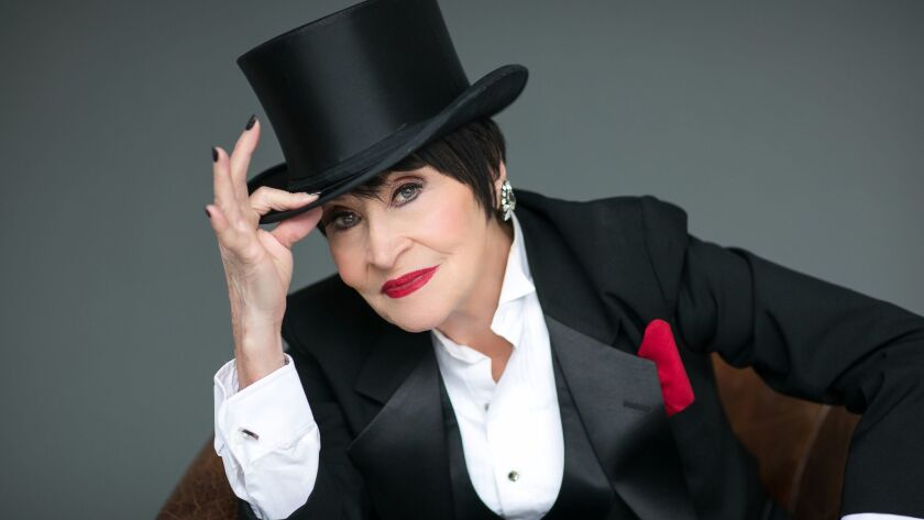 Chita Rivera performs Friday at the Broad Stage in Santa Monica.