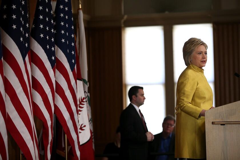 Hillary Clinton on terrorism