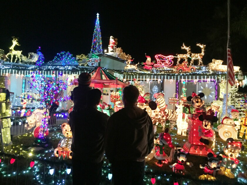 Christmas on Knob Hill in San Marcos