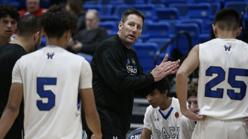 Tim Barry and others have stepped in to coach the West Hills boys basketball team this season after the death of longtime coach Jeff Armstrong in October.