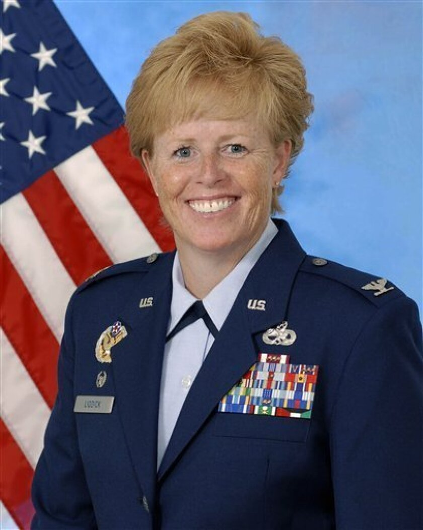 Woman to lead Air Force training after sex scandal - The San