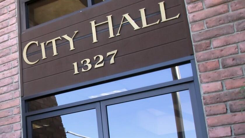 La Cañada Flintridge City Hall.
