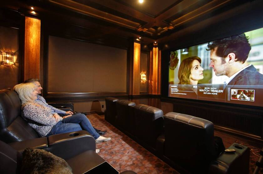Now Showing In Rich People S Homes First Run Movies Los Angeles Times