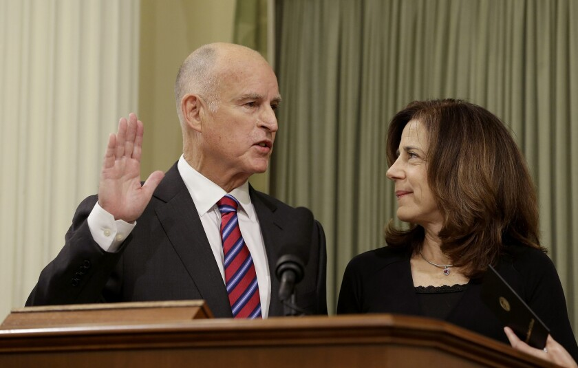 Jerry Brown, Anne Gust Brown