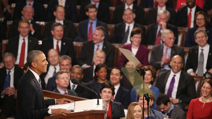 President Obama speaks at the U.S. Capitol on Tuesday.