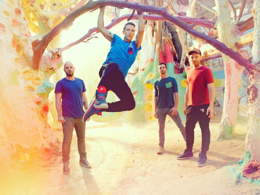 Coldplay. (Courtesy photo)