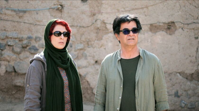 "(L-R) - Behnaz Jafari and Jafar Panahi in a scene from ""3 Faces."" Credit: Kino Lorber"