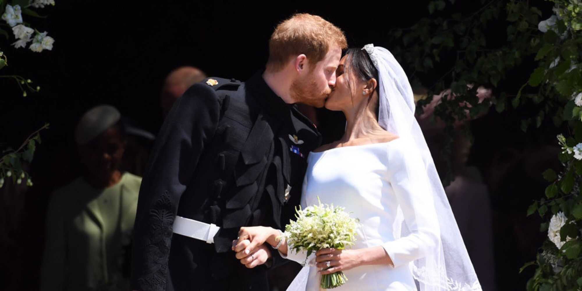 Prince Harry and Meghan Markle are wed amid pomp and pageantry at