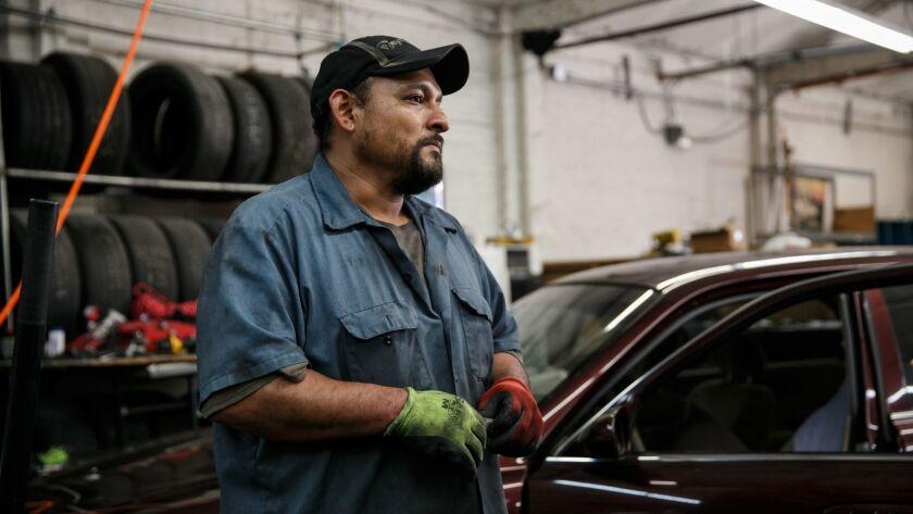 Manuel Blanco owns Blanco's Tires & Auto Repair.