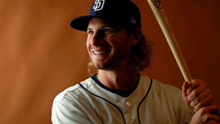 San Diego Padres outfielder Travis Jankowski. (Photo by K.C. Alfred/The San Diego Union-Tribune)