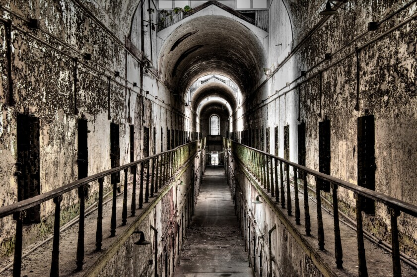 """Eastern State Penitentiary in Philadelphia, considered one of America's most haunted prisons, was designed to inspire """"dread and terror."""""""