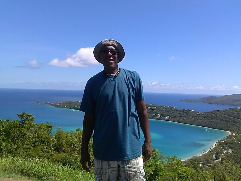 Gordon Jones, the co-founder of Good Trubble, lived in the U.S. Virgin Islands for years before returning to California.