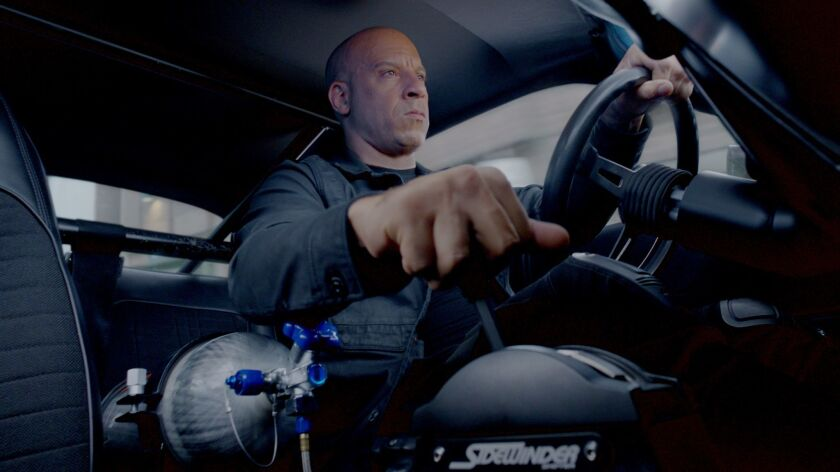 """Vin Diesel stars as Dom in """"The Fate of the Furious."""""""