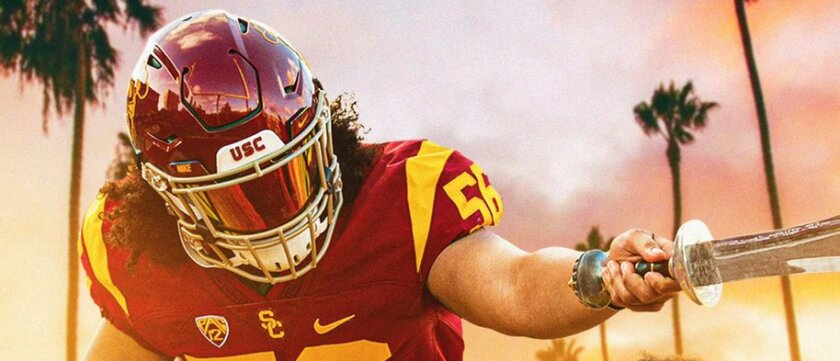Bishop Alemany offensive tackle Saia Mapakaitolo has committed to USC.