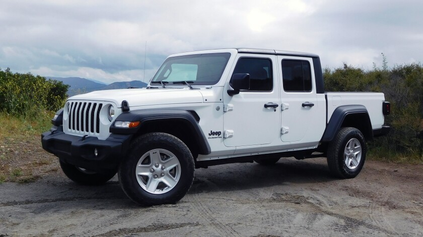 San Diego Jeep >> Jeep Gladiator The Mudder Of Midsize Pickups The San