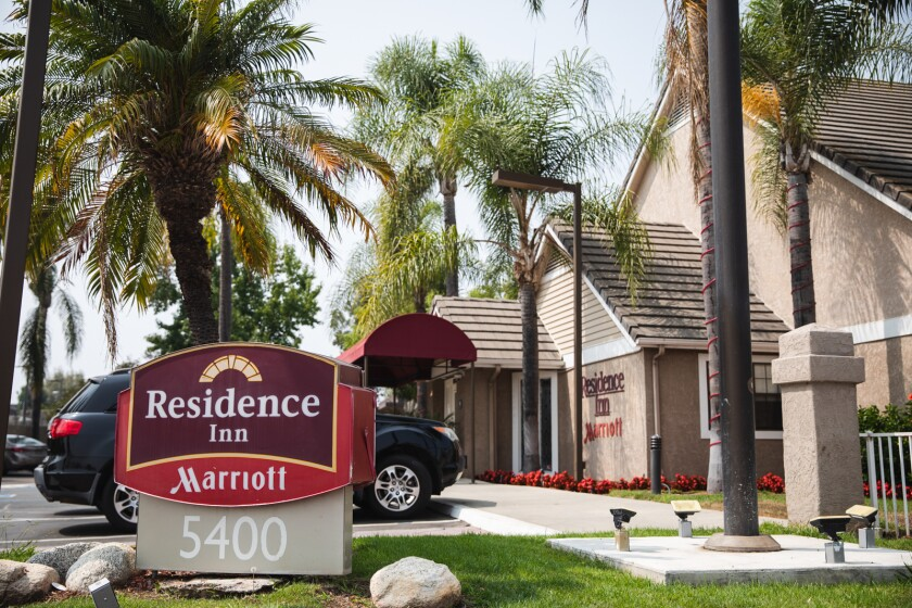 The Residence Inn by Marriott located on Kearny Mesa road.