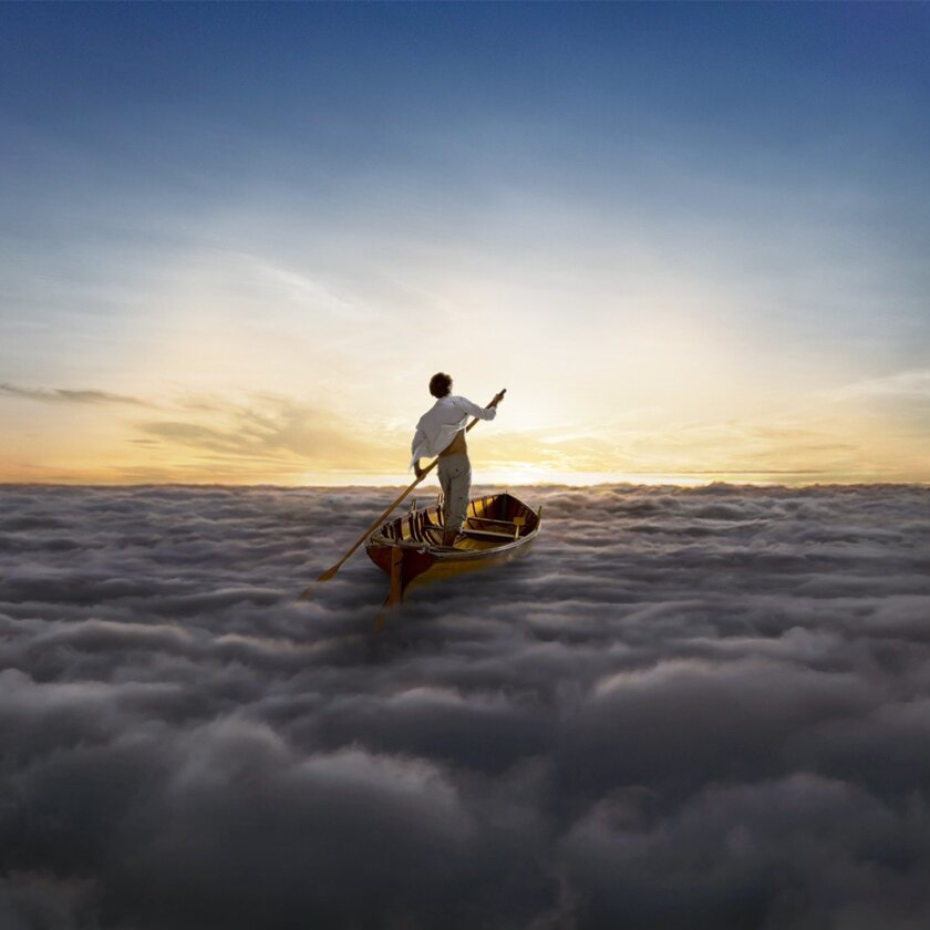 "This CD cover image released by Columbia Records shows ""The Endless River,"" a new album by Pink Floyd to be released on Nov. 10. The album was assembled from 20 hours of material recorded during the band's 1993 sessions for ""The Division Bell."" (AP Photo/Columbia)"