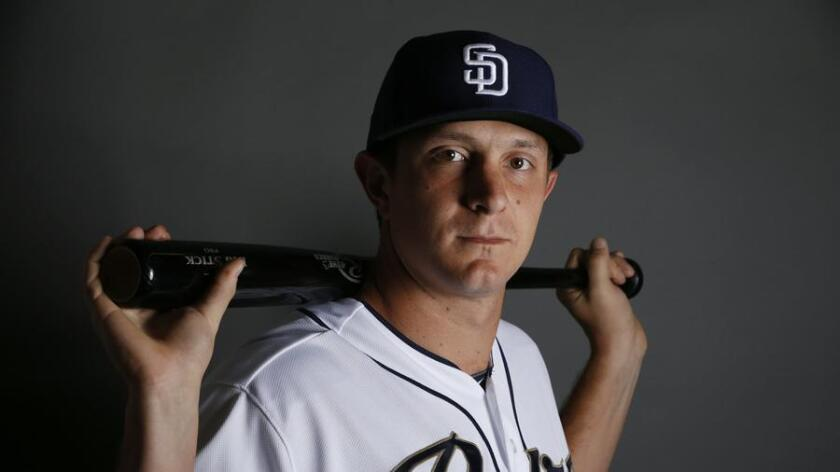 Alex Dickerson, left infielder of the San Diego Padres (/ AP)