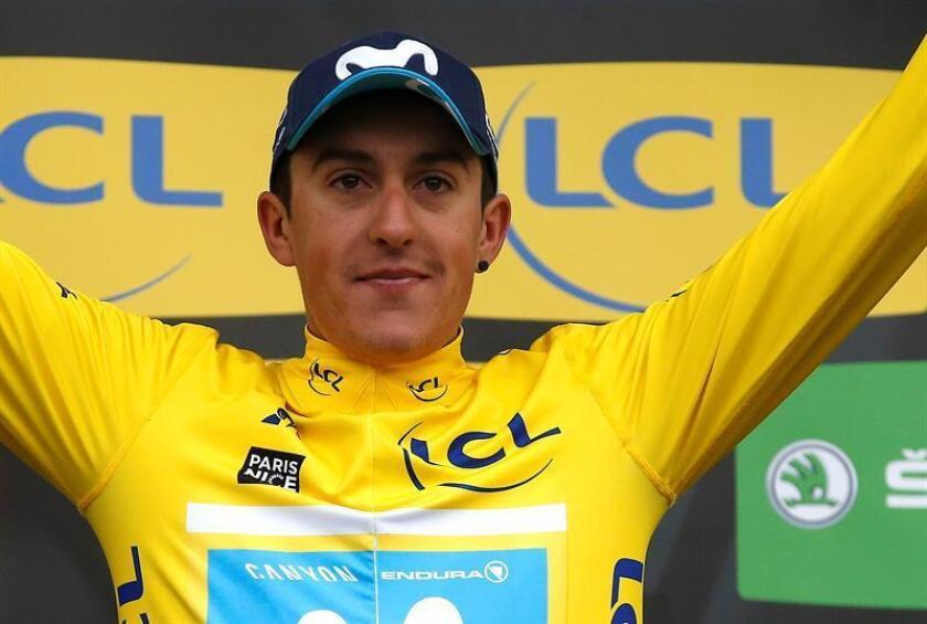 El español Marc Soler (Movistar), campeón vigente de la clásica ciclista París-Niza. EFE/Archivo