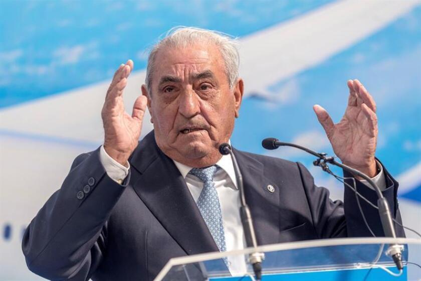 Fotografía del presidente de Globalia, Juan José Hidalgo. EFE/Archivo