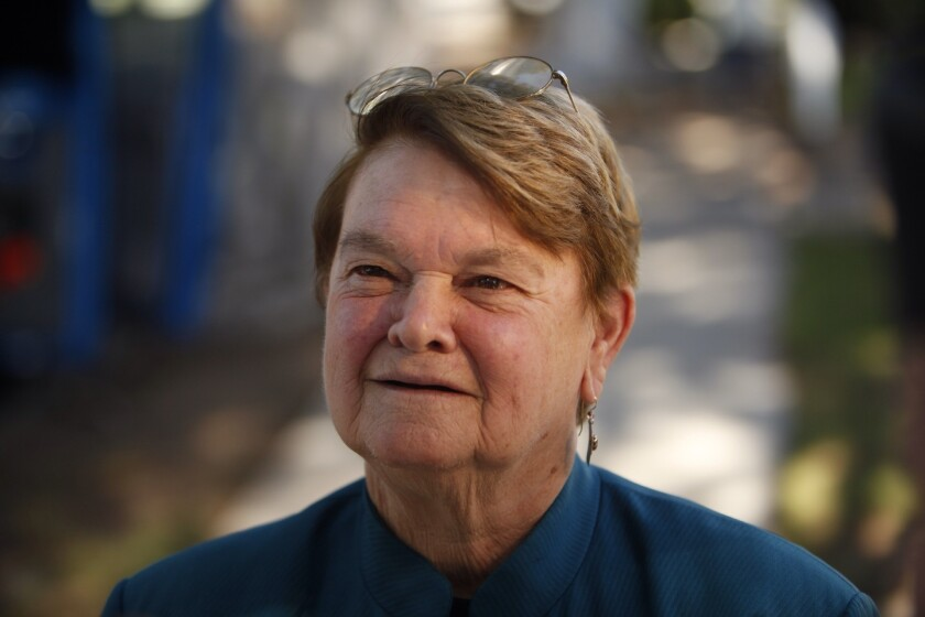 Los Angeles County Supervisor Sheila Kuehl, shown in November, supported an unlocked treatment center for foster youth who have been recruited by pimps.