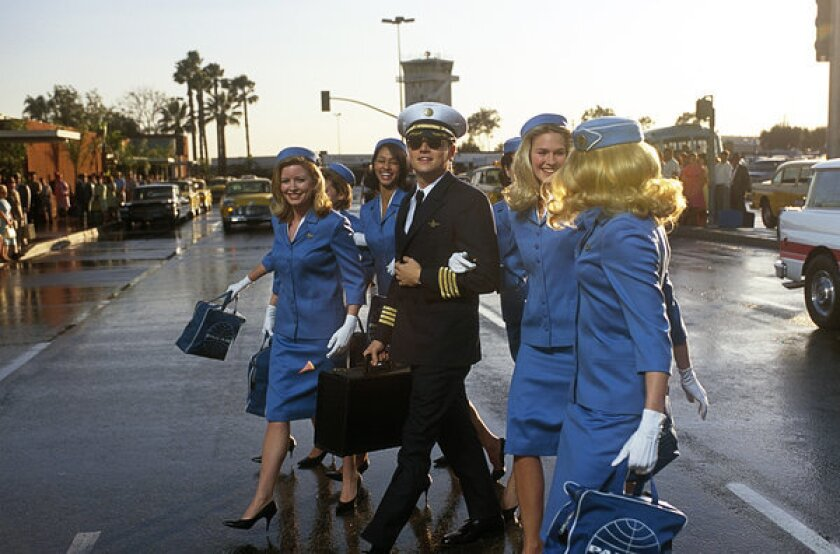 """Leonardo DiCaprio in """"Catch Me If You Can"""""""