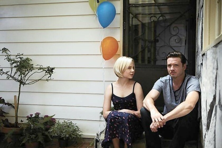 """Adelaide Clemens and Aden Young in """"Rectify."""""""
