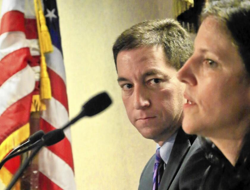 Glenn Greenwald, Laura Poitras