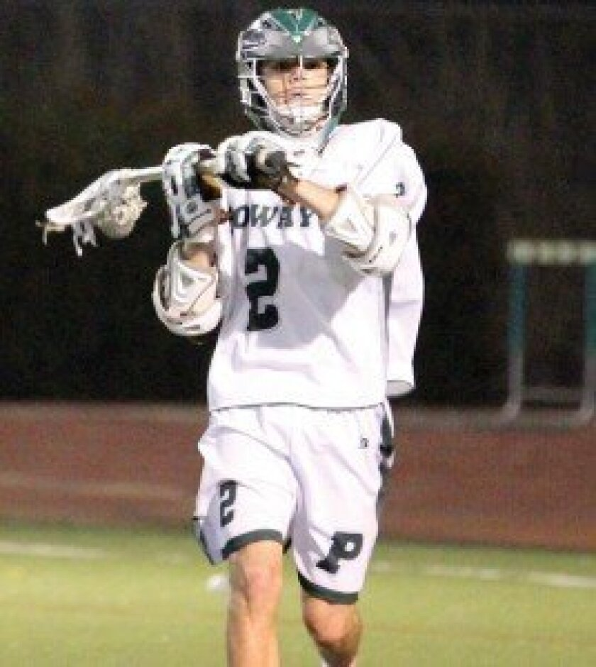 Poway High's Jake O'Donnell. Photo by Sherri Cortez
