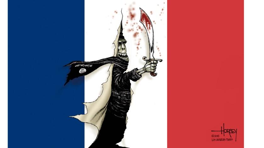 ISIS attacks in Paris rip the veil of civilization