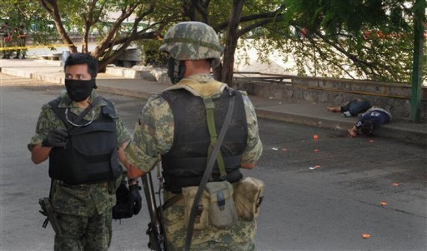 27 deaths, including 14 decapitated, rock Acapulco - The San