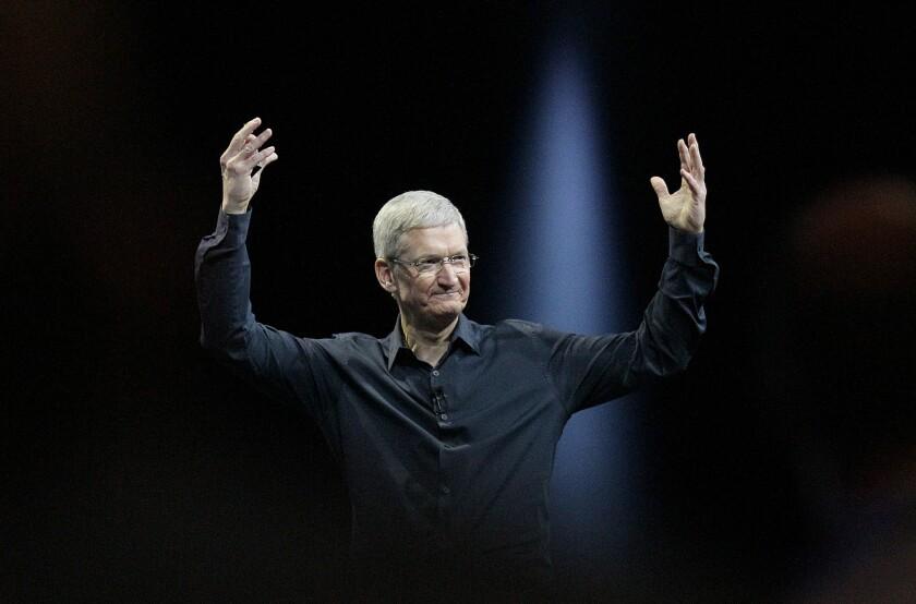 Apple CEO Tim Cook: a fan of international tax break-hunting.