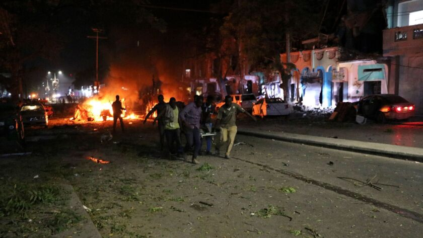 Police say 25 killed in Mogadishu blast as al-Shabab claims attack
