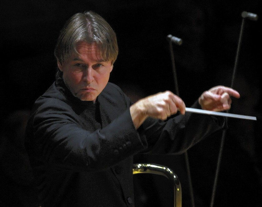 """The new season of the L.A. Phil will include a Friday evening series named """"in/SIGHT."""" The series will launch with a Nov. 7 performance of Berlioz's """"Romeo and Juliet,"""" conducted by Esa-Pekka Salonen."""