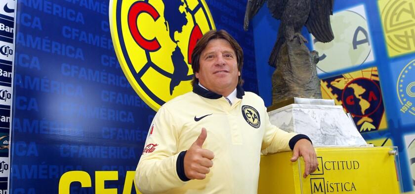 Miguel 'Piojo' Herrera, entrenador del América.