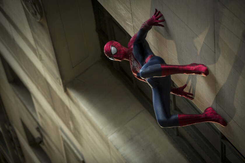 """Andrew Garfield in """"The Amazing Spider-Man 2."""""""