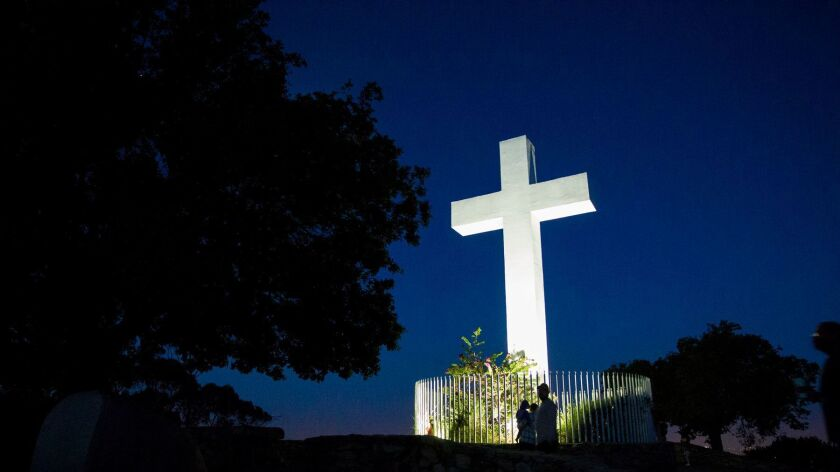 [March 27, 2016] The 91st annual Easter Sunrise Service at Mt. Helix Park, led by Christ Lutheran Ch