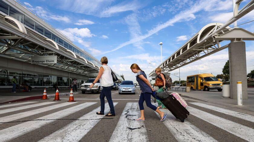 Ontario International Airport is experiencing low fares.