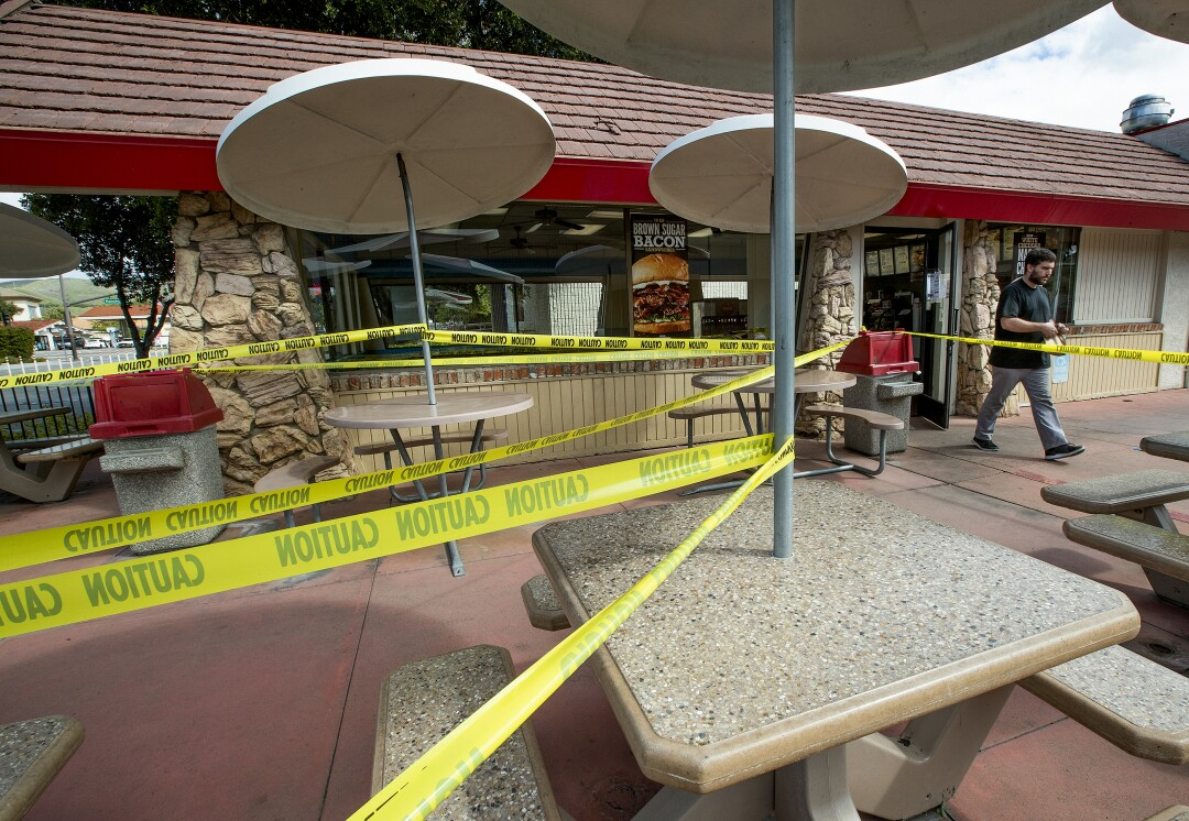 Arby's restaurant in Thousand Oaks