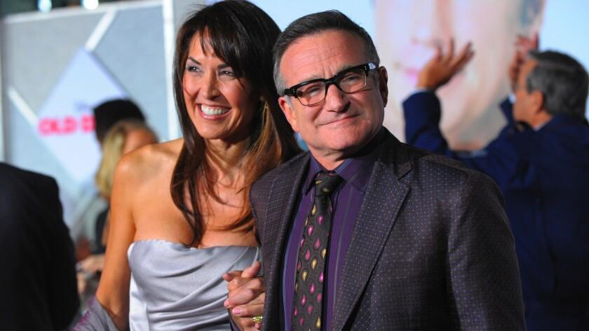 Robin Williams' wife Susan Williams forgives him for killing himself
