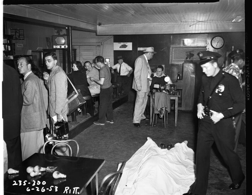 1953 crime scenes