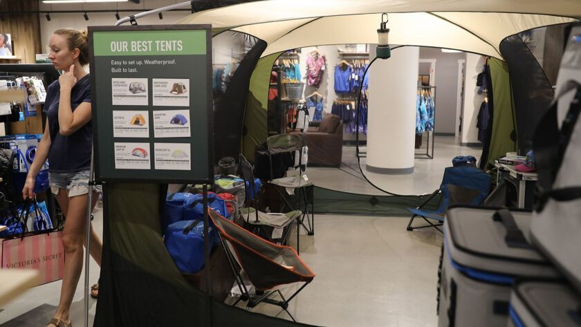 From comfy hammocks to insulated coffee presses, retailers roll out luxury camping items