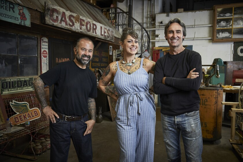 """""""American Pickers"""" will be filming in California in December and is seekin Ramona residents with interesting collections."""