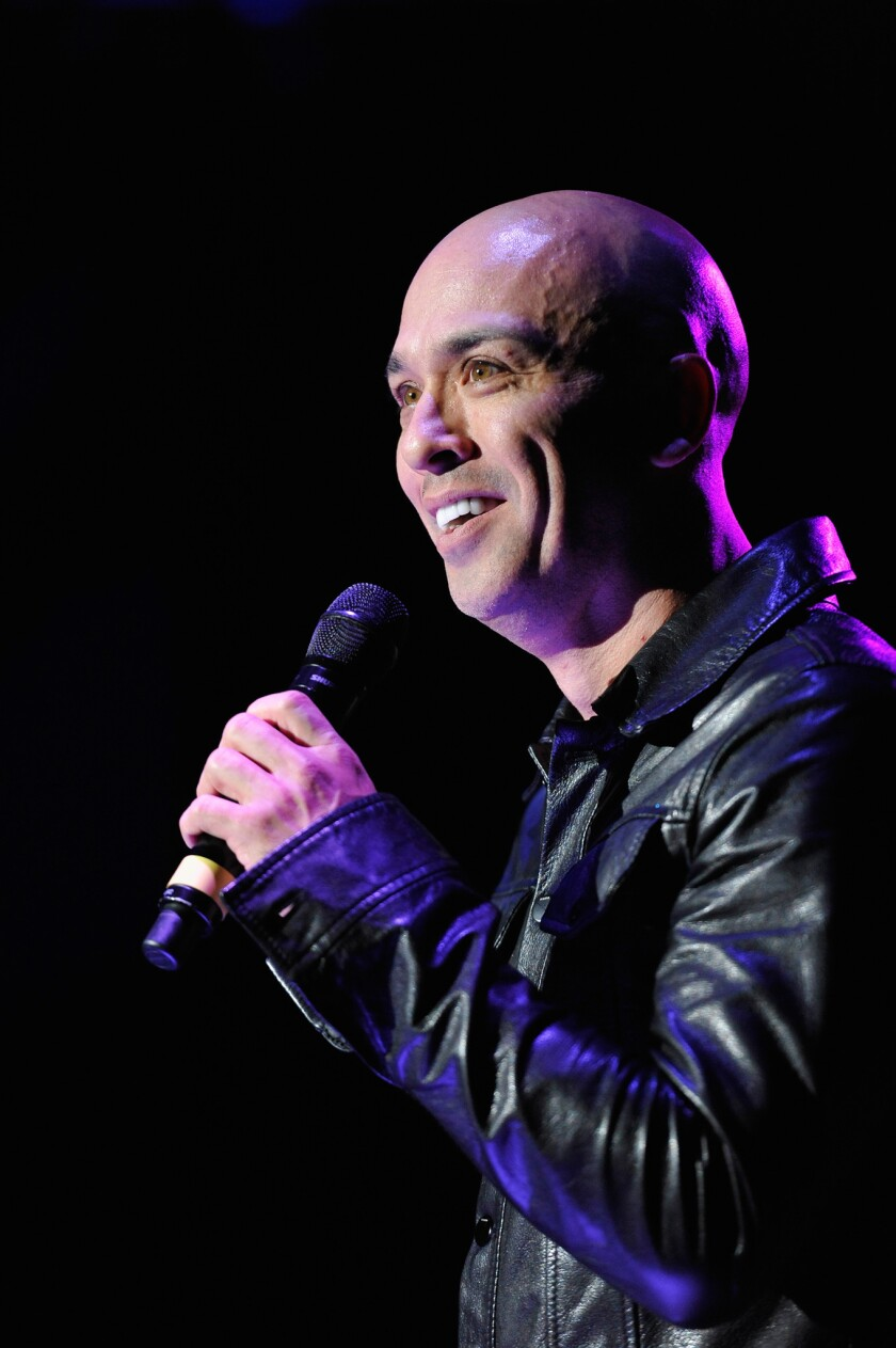 Comedian Jo Koy performs at the Rebuild! Benefit For Typhoon Haiyan Survivors at The Greek Theatre on June 8, 2014 in Berkeley, California. CONTRIBUTED PHOTO / Michael Tullberg / Getty Images