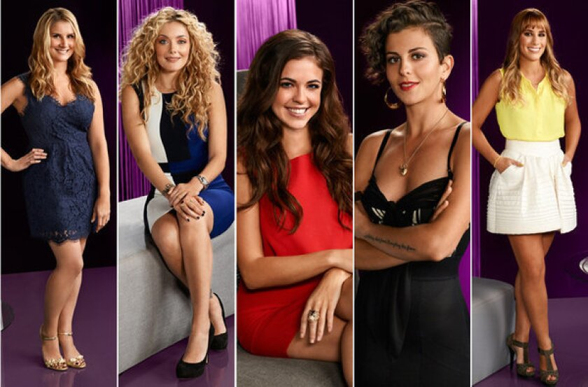"The women from ""Eat Drink Love."" From left, Brenda Urban, Waylynn Lucas, Jessica Miller, Nina Clemente and Kat Odell."