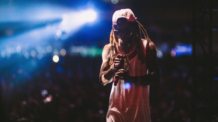 """Lil Wayne is the first artist profiled in Hulu and Live Nation's virtual reality series """"On Stage."""""""
