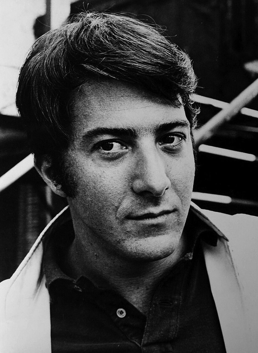 Actor Dustin Hoffman, shown in a 1968 file photo, spent the summer of 1980 in La Jolla.