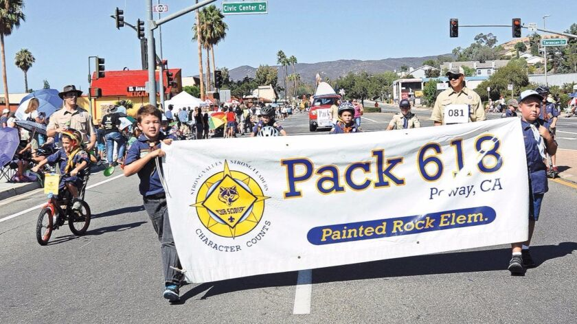 Youth groups are a big part of the annual Poway Days Parade, which is seeking sponsorships.