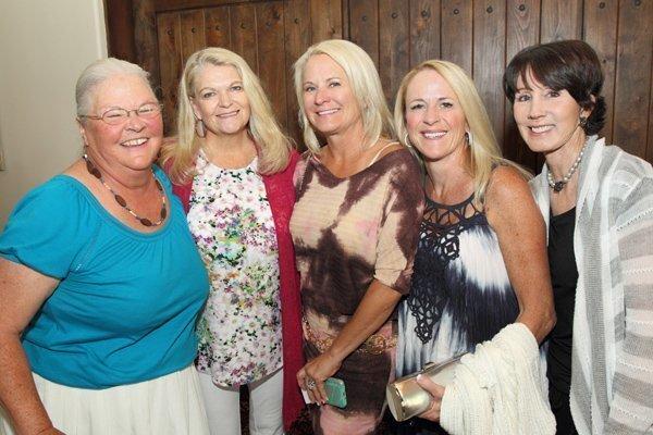Connie Williams, Kim Seymour, Caroline Singer, Kathy Konzen, Judy Robert